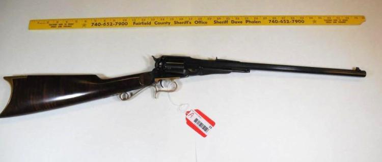 Uberti 1858 Remington Revolver Black Powder Rifle