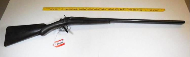 A Richard Double Barrel 12 Gauge Shotgun SxS
