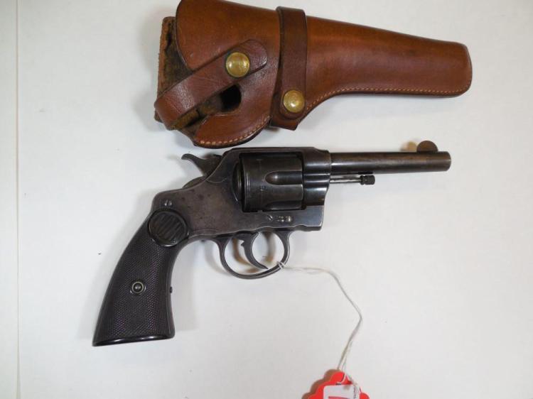 Colt DA38 Army/Navy Revolver w/Holster