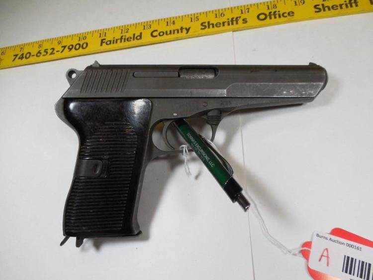 Czech CZ-52 9 mm Pistol in 7.62 mm