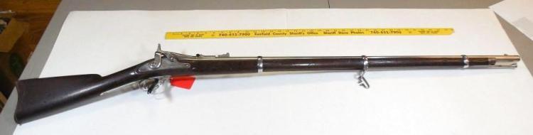 Springfield 1866 Allin Conversion 1863 Civil War Rifle
