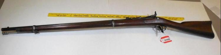 Springfield 1866 Allin Conversion 1864 Civil War Rifle