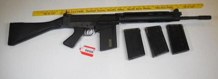 Century Arms R1A1 308 Cal Sporter Rifle w/4 clips