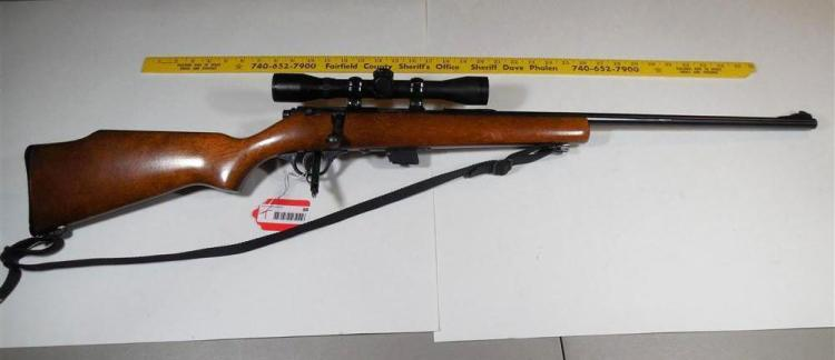 Marlin Model 25 Rifle 22 lr w/Scope