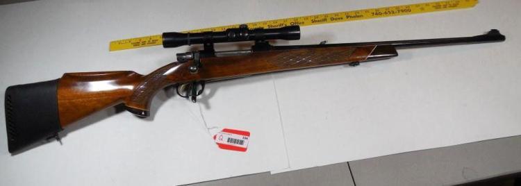 Parker-Hale Hunting Rifle w/Weaver Scope .243