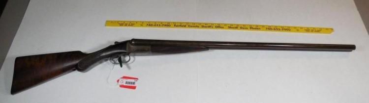 Old Remington Arms Double Barrel Shotgun 12 GA