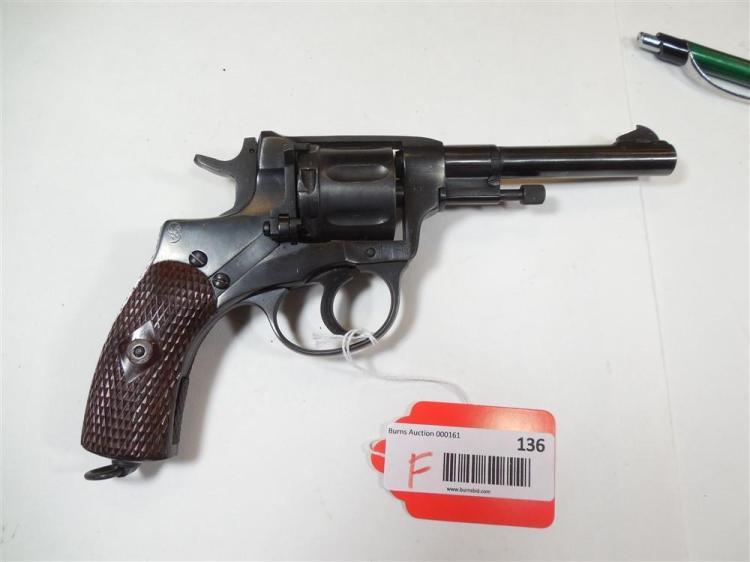 Russian M1895 7.62 x 38R Military Revolver