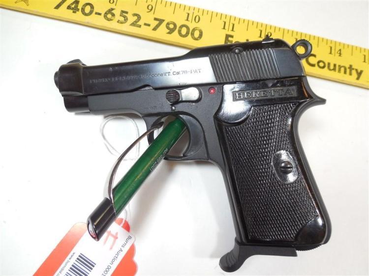 Pietro Beretta 7.65mm Italian Semi Auto Pistol