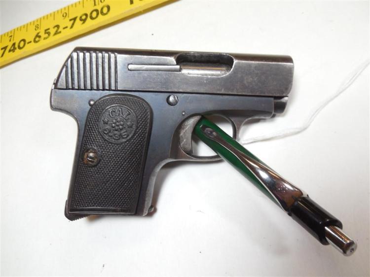 "Unusual Italian ""Protector"" 6.35 mm Pistol"