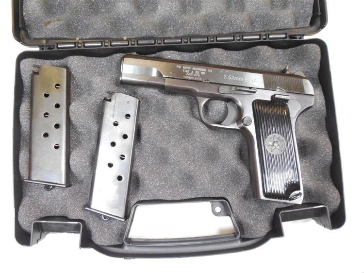 Zastava M57 7.62mm M57 Semi Auto Pistol 2 mags