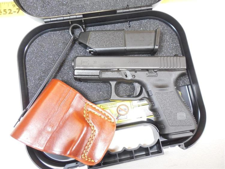 Glock 38 45 GAP Semi Auto Pistol w/extra mags etc