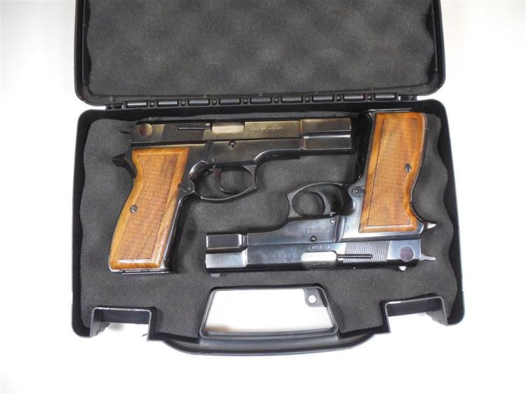 Pair FEG P9R and P9R/K 9 mm Pistols Near Match