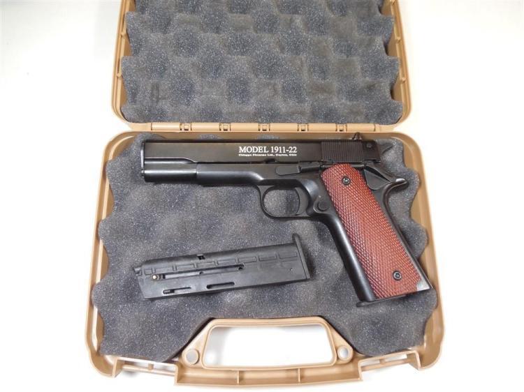 Chiappa 1911-22 Semi Auto 22 Cal Pistol 2 Mags