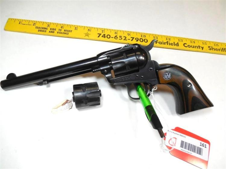 Ruger 22 Cal Single Six Cowboy Pistol w/Extra Cyl.