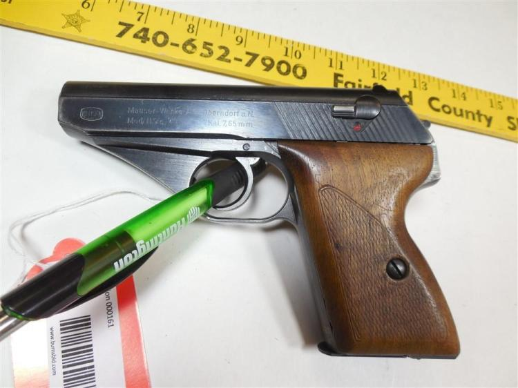 Rare Mauser HSC Nazi German Pistol 7.65 mm