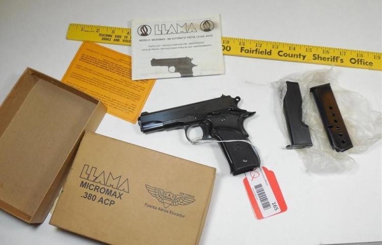 Llama Micromax 380 ACP Air Force in Box 2 Mags