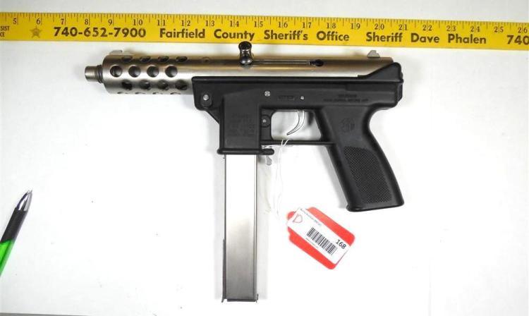 Intratec Tec-9 9 mm Semi Auto Pistol Rare Finish
