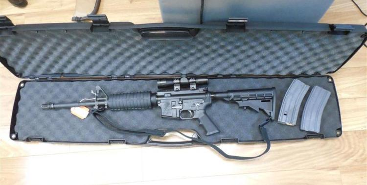 Bear Creek Arsenal Model BCA15 223 Rifle w/Mags