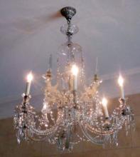Fine Venetian Glass 12 Arm Chandelier,19th C