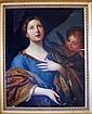 Oil on Canvas, St. Cecilia. J. R. Lantour.