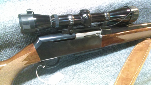 Browning Bar Semi-auto - 7mm mag Rifle with Leupold Scope