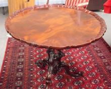 HENKEL HARRIS PIE CREST TABLE