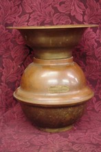 BRASS SPITTOON FROM NEVADA HOTEL