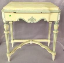 Hand painted French Makeup Table