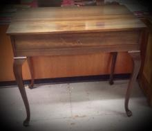 Mahogany refinished Spinet Desk