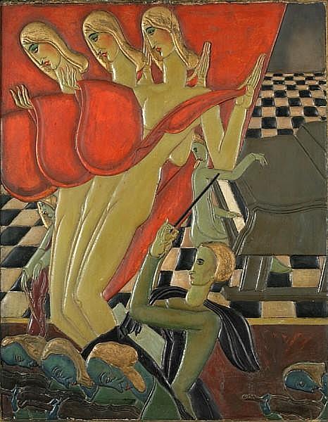 Karoly Fulop (Hungarian, wk US 1891-1963)
