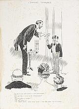 René Bull (Irish, 1872-1942) Humorous Sketches and Comic Strips from