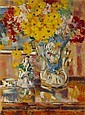 Georges Creten (Belgian, 1887-1966) Nature morte 29 3/4 x 22in (75.6 x 55.9cm), Georges Creten, Click for value