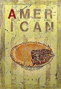 Bill Barminski (American, born 1962) American Pie, 1994; Dog Meat, 1994 (double-sided) 28 1/4 x 20 1/4in