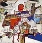 Tony Berlant (American, born 1941) An American in Paris 50 x 40in, Tony Berlant, Click for value