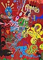 Norman Stiegelmeyer (American, 1937-1984) Mental Landscape, 1967-77 49 1/2 x 36in