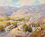 Robert Alexander Graham (1873-1946) Morrison, Colorado 25 x 30in overall: 32 x 37in