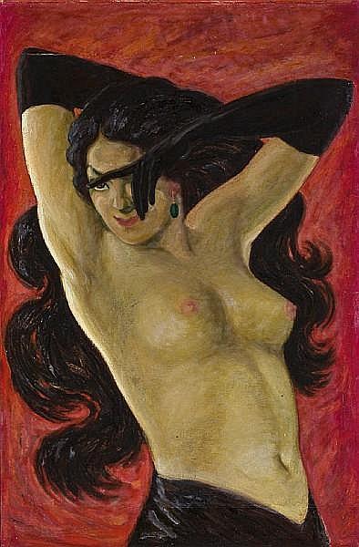 Leonard Everett Fisher (American, born 1924) Romance, 1948