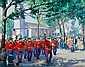 Richard Whorf (American, 1906-1966) The Parade 16 x 20in, Richard Whorf, Click for value
