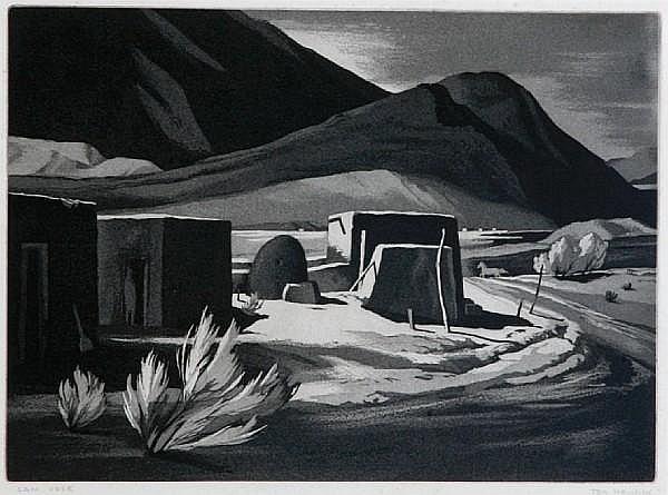 Ted Hawkins (American, born 1910); San Jose;