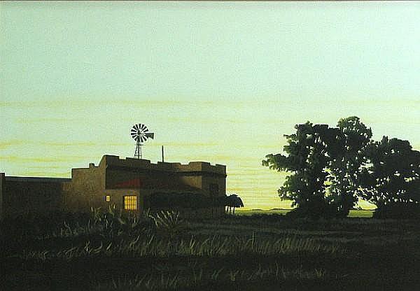 Marcos Borio (Argentinian, born 1949) José de la Quintana, 1990 27 1/2 x 39 1/2in