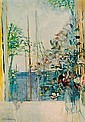 Michel-Henry (French, born 1928) Balcon sur Riviera 36 x 25 1/2in,  Michel-Henry, Click for value