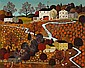 Charles M. Wysocki (1929-2002) Maine Pumpkin Farm 24 x 30in, Charles Wysocki, Click for value