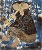 Giuseppe Migneco (Italian, 1908-1997) Suonatore di Piffero, 1963 18 1/8 x 21 5/8in (55 x 46cm), Giuseppe Migneco, Click for value