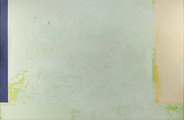 Walter Darby Bannard (American, born 1934) Liberty Garden, 1972 72 x 121in (182.9 x 307.3cm)