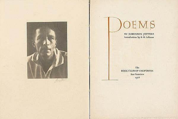 JEFFERS, ROBINSON 1887-1962. [& ANSEL ADAMS].