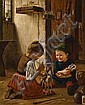 Theodore Kleehaas (German, 1854-1929) The Christmas toys 32 x 25 3/4in (81.3 x 65.5cm), Theodor Kleehaas, Click for value