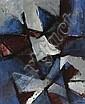 John Saccaro (American, 1913-1981) Pleiades Suite: #1, 1954 38 x 32in, John M Saccaro, Click for value