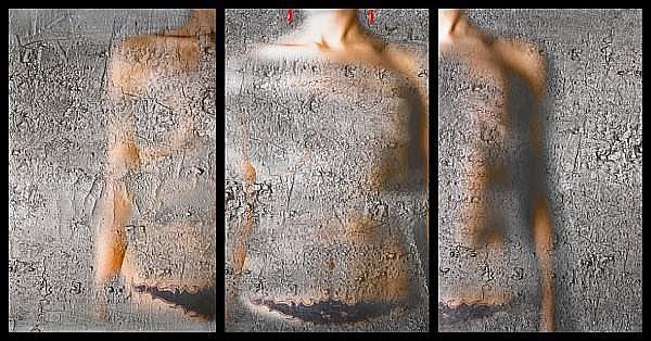 Mania Akbari (Iran, born 1974) Devastation 2, 2008 (triptych) each panel 63 x 40 9/16in (160 x 103cm)