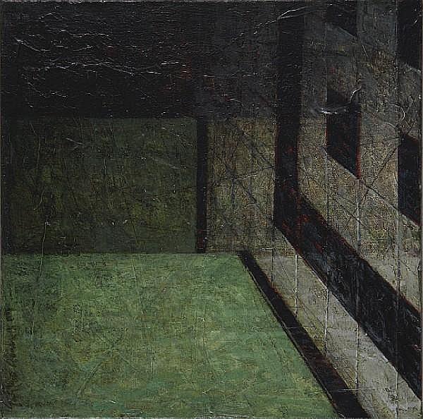 Gustavo Acosta (Cuban, born 1958) Estructura, 2004 12 x 12in (30.5 x 30.5cm) unframed