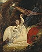 Richard Westall (British, 1765-1836) Leda and the swan 19 x 15 3/4in (48.2 x 40cm), Richard Westall, Click for value